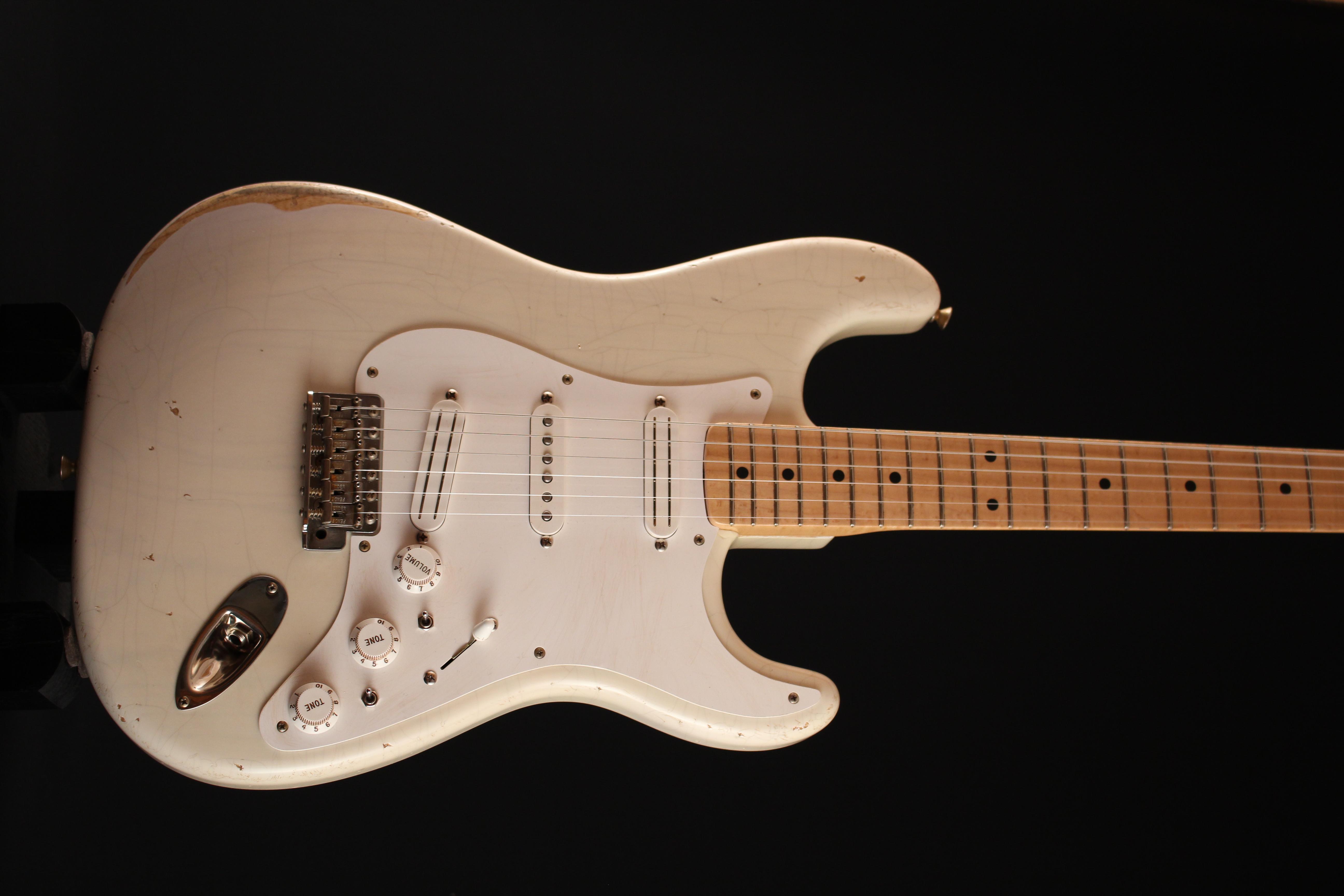 """Fender Stratocaster CS 56 """"NOS"""" Blonde - de 2000 150521033309727695"""
