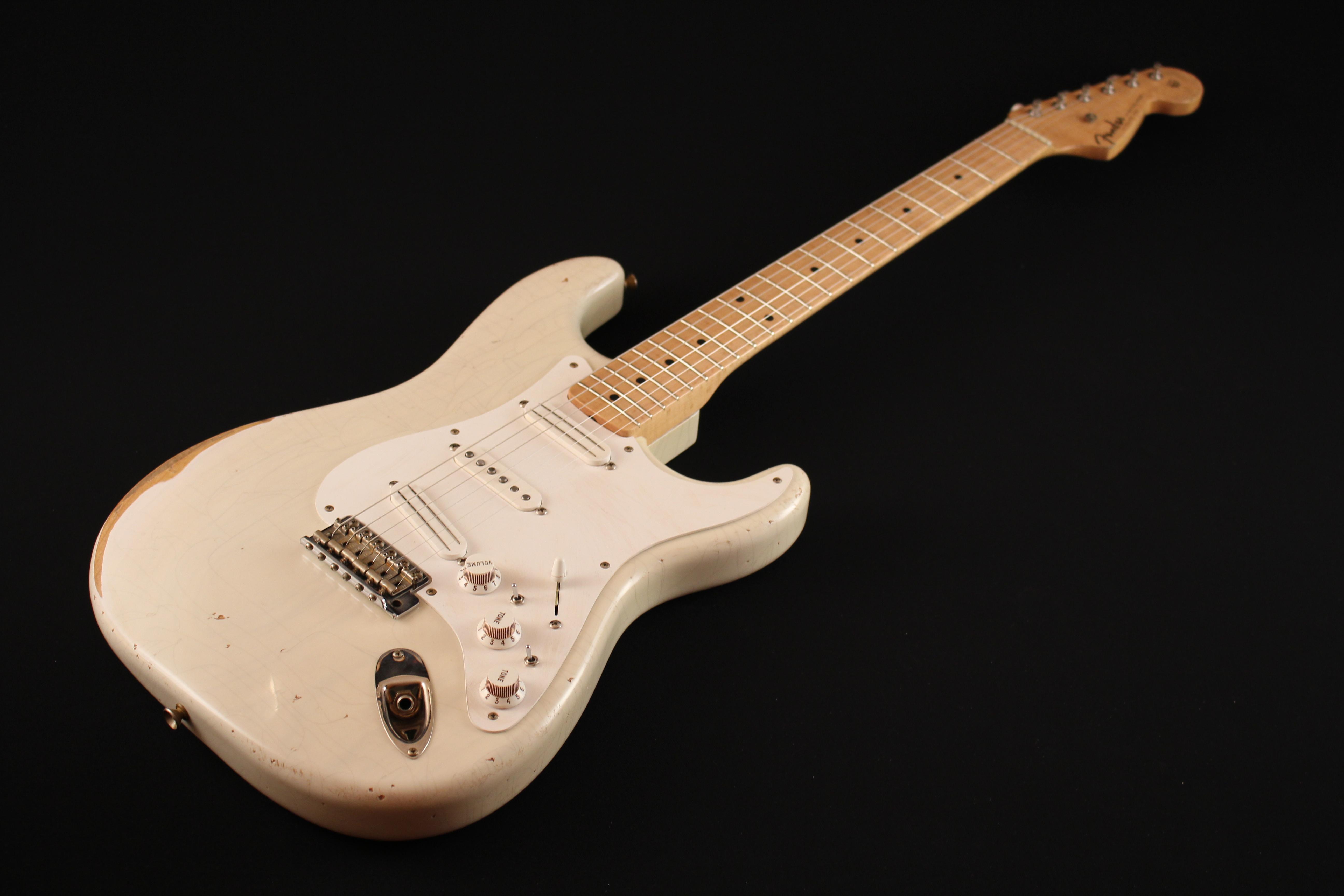 """Fender Stratocaster CS 56 """"NOS"""" Blonde - de 2000 150521033310995297"""