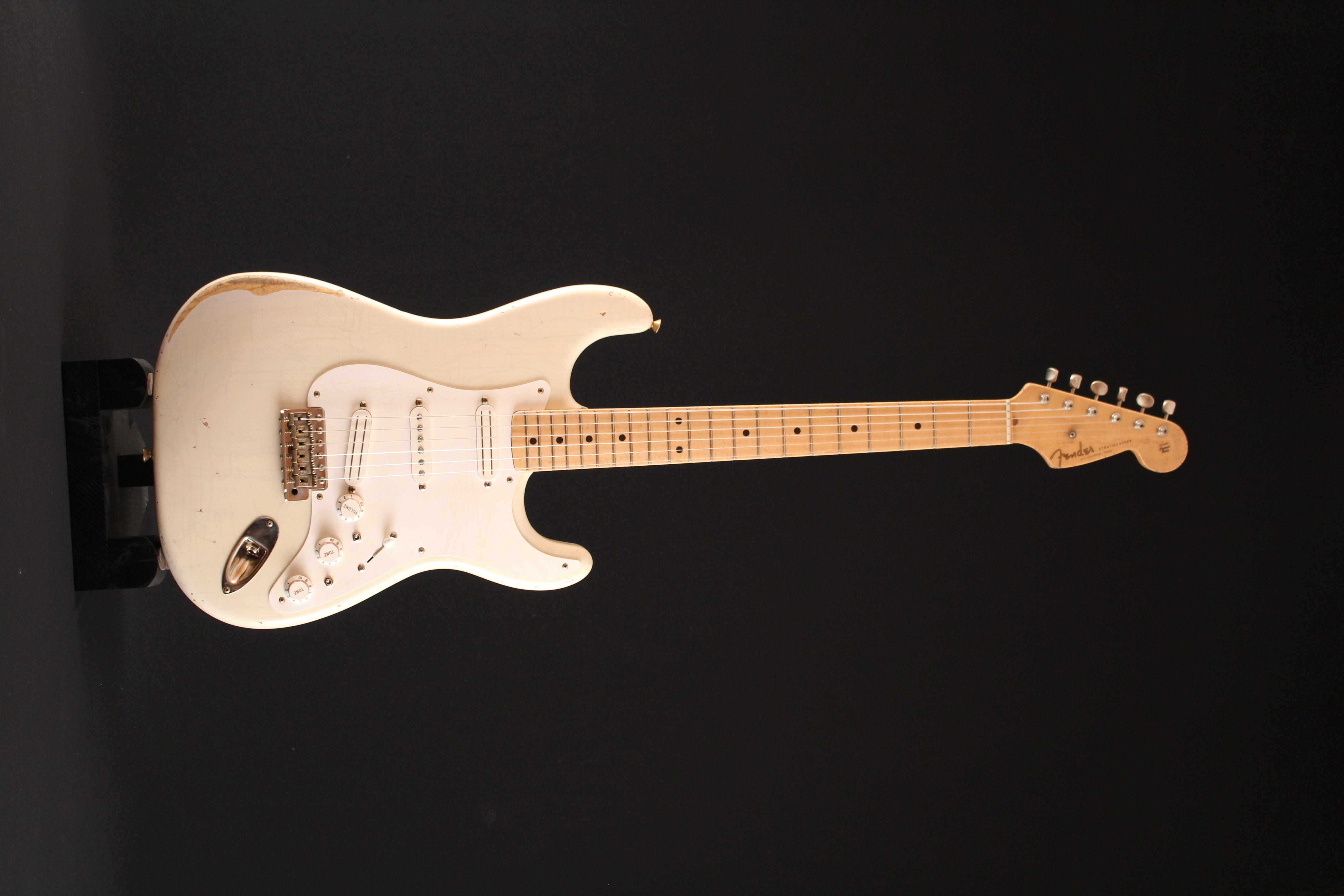 """Fender Stratocaster CS 56 """"NOS"""" Blonde - de 2000 150521033312342707"""