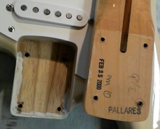 """Fender Stratocaster CS 56 """"NOS"""" Blonde - de 2000 15052103331556047"""