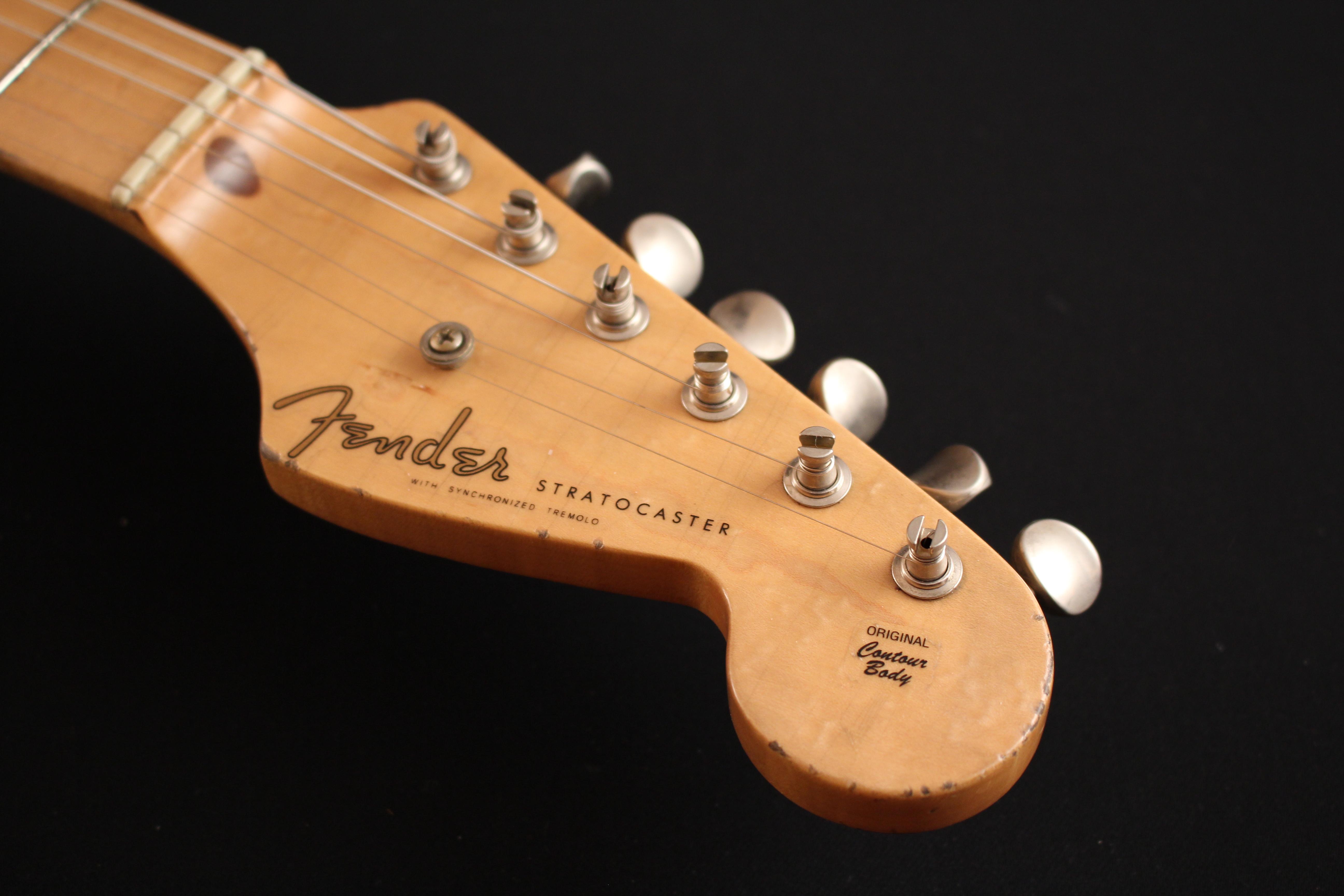 """Fender Stratocaster CS 56 """"NOS"""" Blonde - de 2000 150521033317136465"""