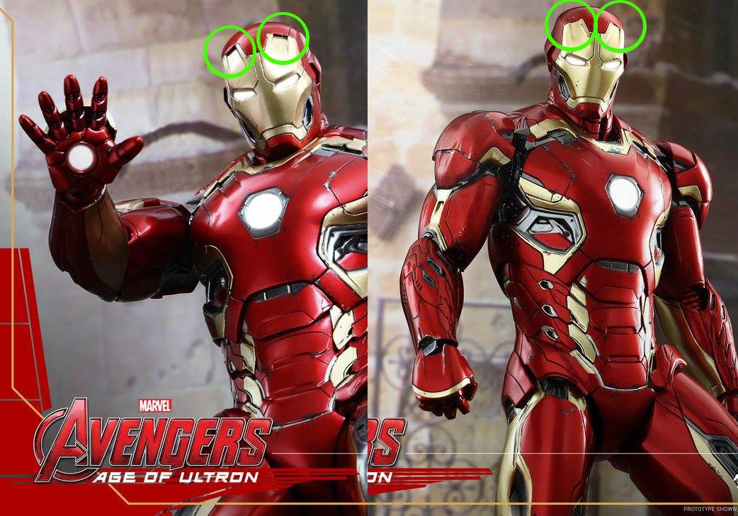 AVENGERS 2 : AGE OF ULTRON - IRON MAN MARK XLV (MMS300DC11) 150522012443128186