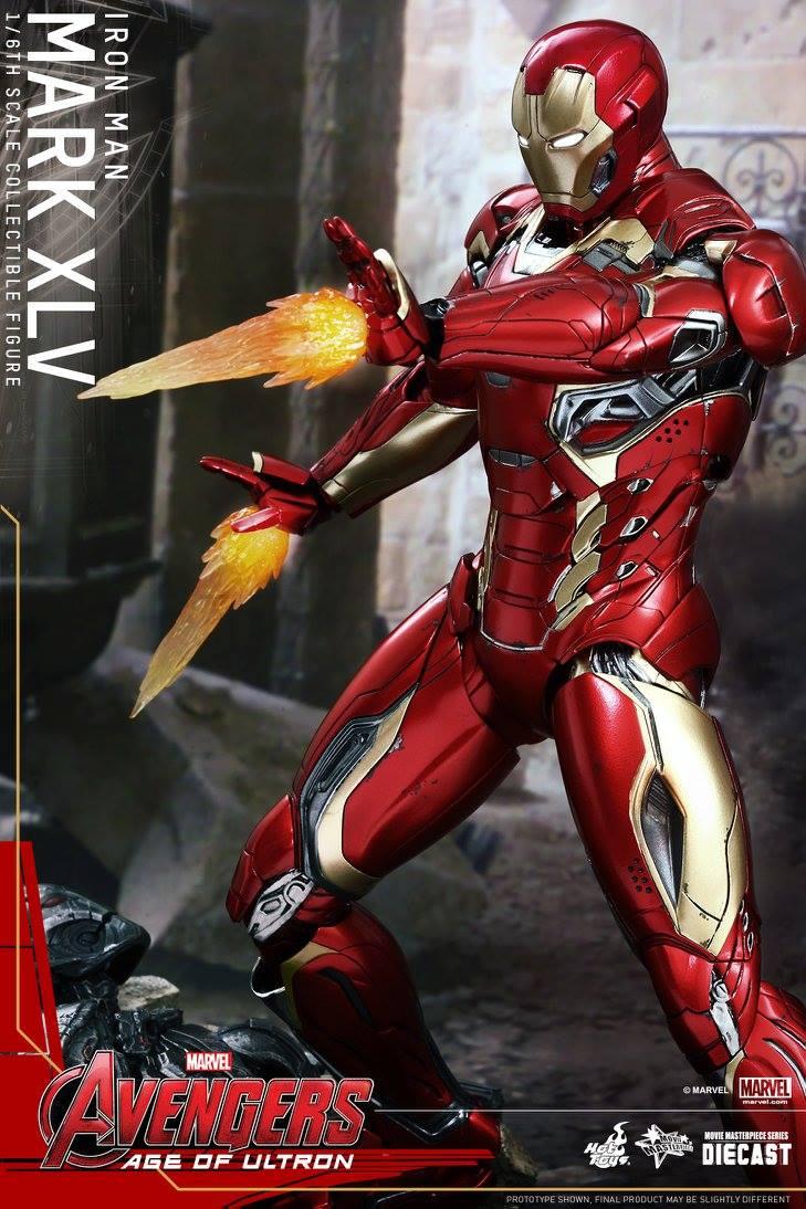 1/6 1/6 Hot Toys - MMS - Avengers: AoU - Iron Man Mark 45