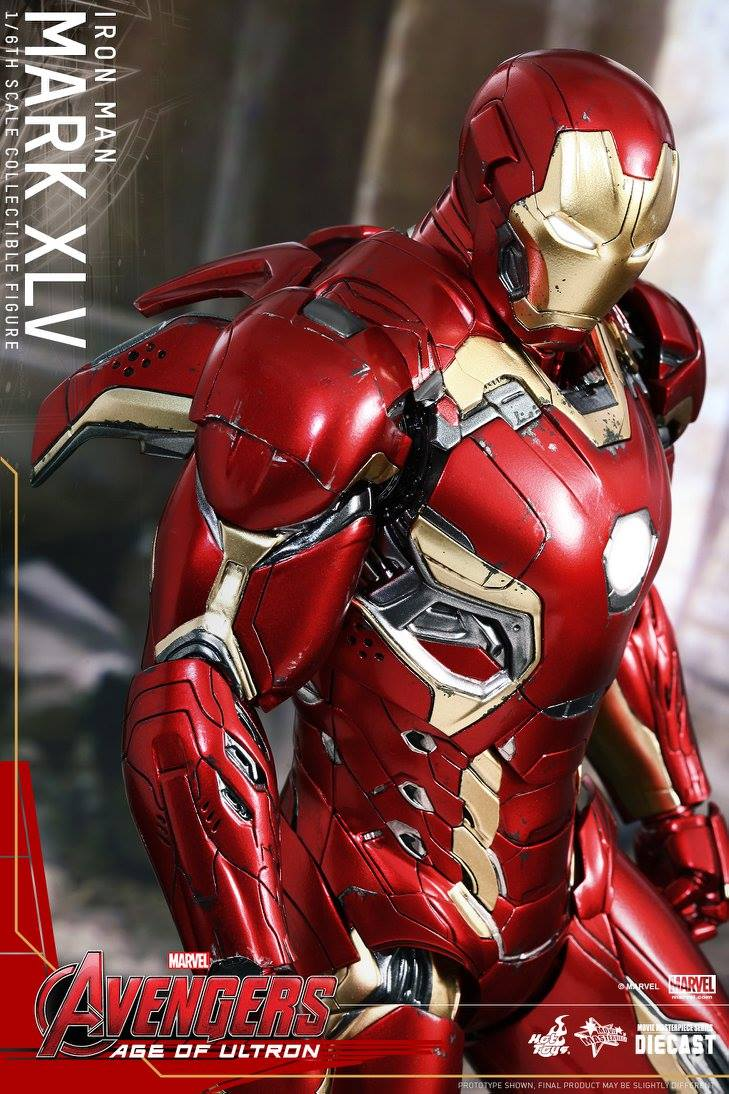 AVENGERS 2 : AGE OF ULTRON - IRON MAN MARK XLV (MMS300DC11) 150522012933514304