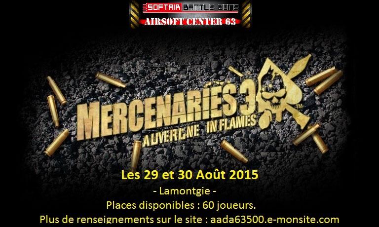 Affiche Mercenaries 3