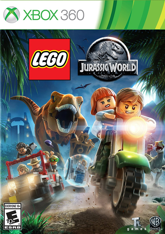 Poster for LEGO Jurassic World