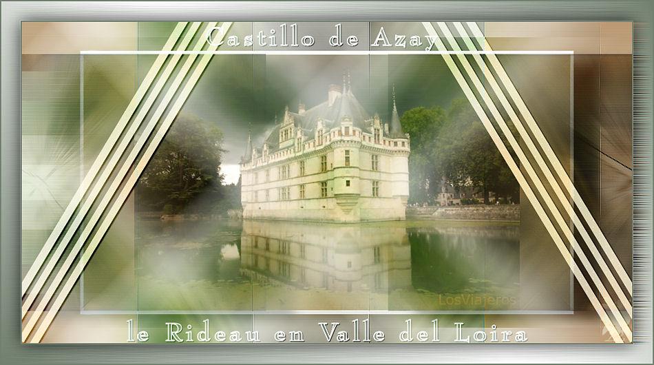 Castillo de Azay-le-Rideau en Valle del Loira