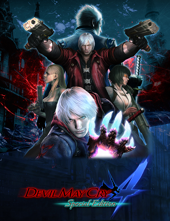 Poster for Devil May Cry 4 Special Edition