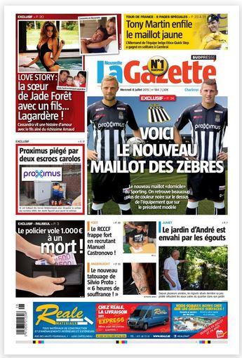 La nouvelle gazette du 08-07-2015 Belgique