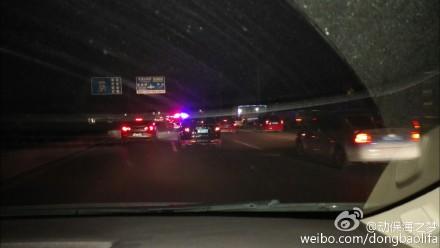 camion escorté par la police 3