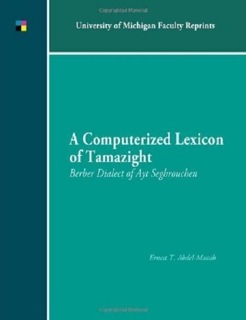 A Computerized Lexicon of Tamazight