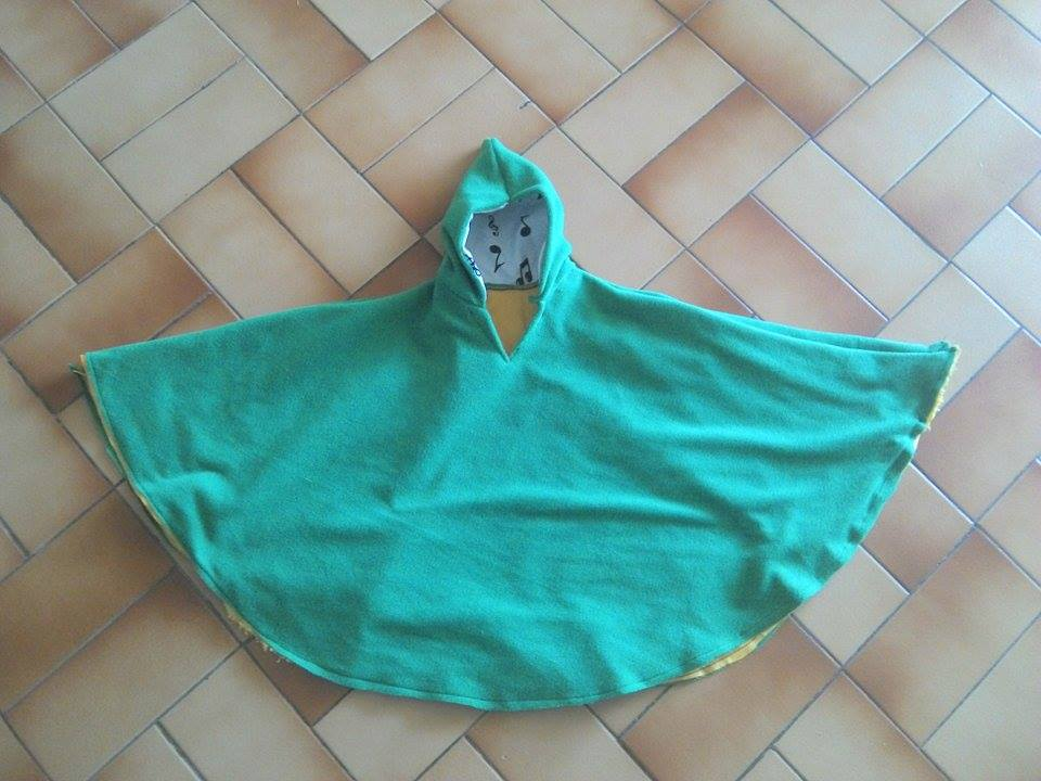 Poncho 1 an thème zelda : link 150718054654601627