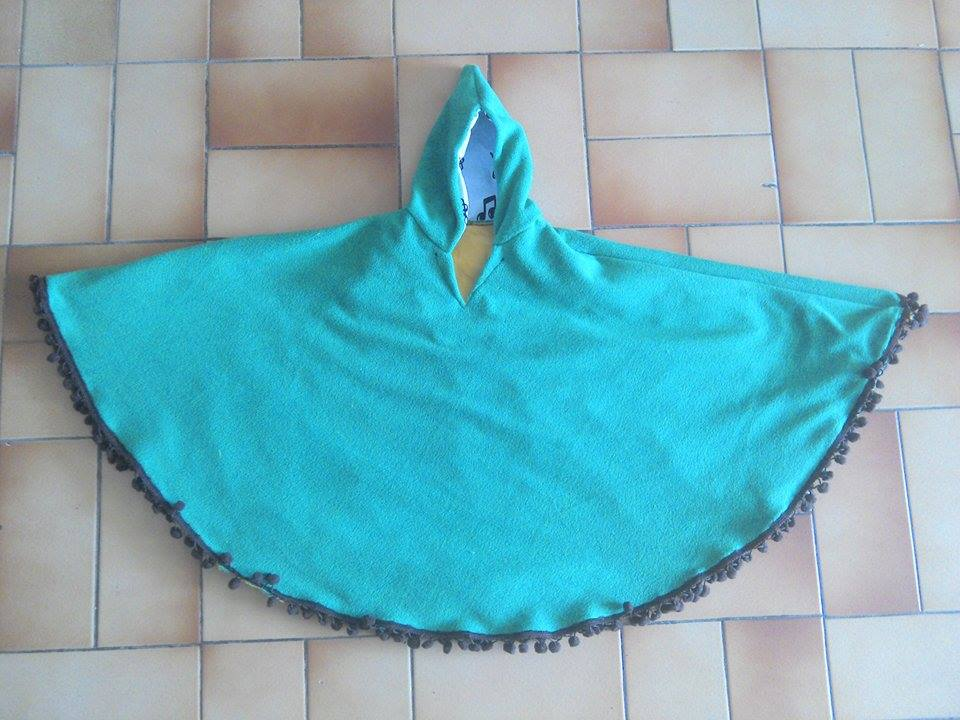 Poncho 1 an thème zelda : link 150718054700118416