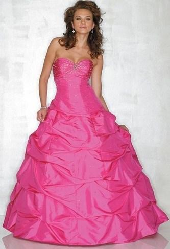 belle image robe de soiree mariage rose bonbon bustier 125. Black Bedroom Furniture Sets. Home Design Ideas