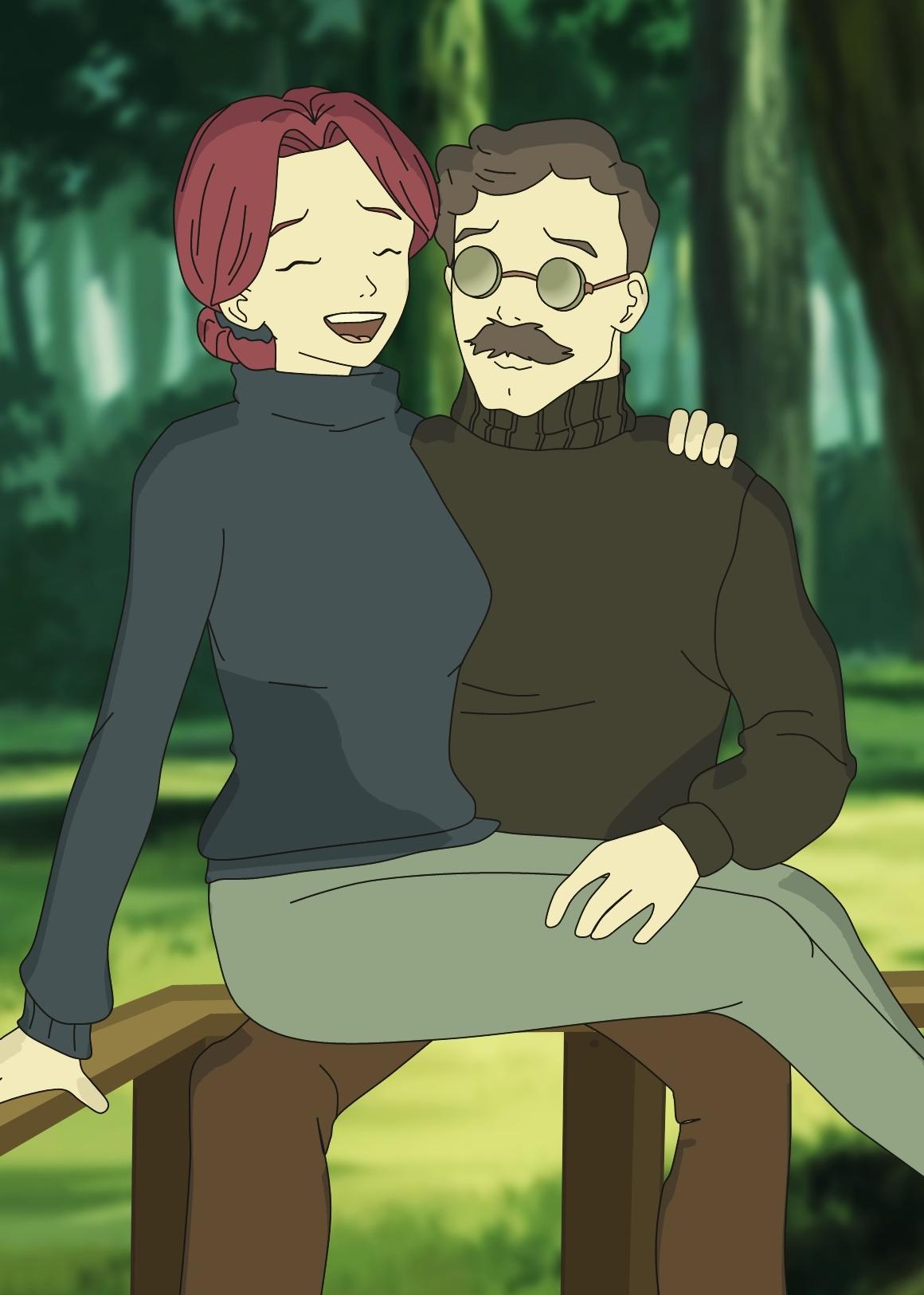Anthéa et Franz Hopper dans Code Lyoko Relight