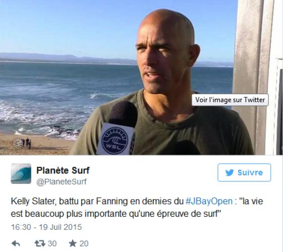 VIDÉO. Le surfeur Mick Fanning attaqué par un requin en pleine compétition en Afrique du Sud ! Par HuffPost avec AFP                        150720095204674440