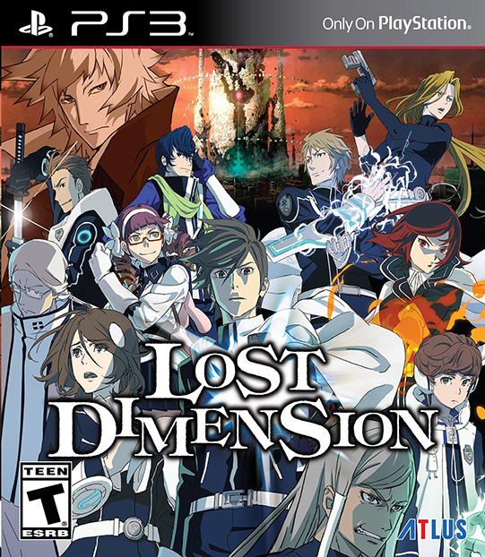 Poster for Lost Dimension