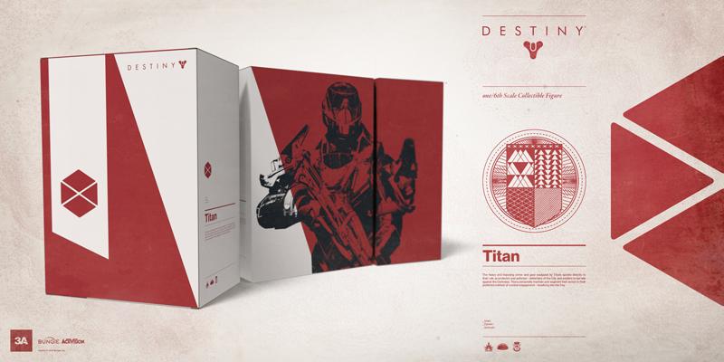 Figurines officielles Destiny : Titan (1/6) par 3A 150723014538136649