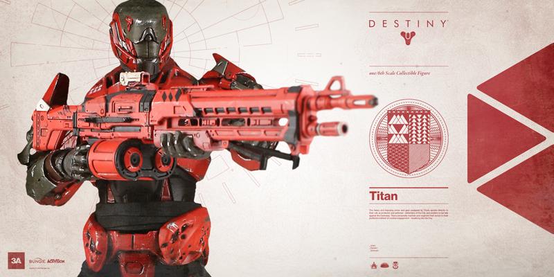 Figurines officielles Destiny : Titan (1/6) par 3A 1507230147219328