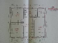 a l 39 aide svp plan de maison r 1 100m 9m facade pour viter de construire en limite. Black Bedroom Furniture Sets. Home Design Ideas