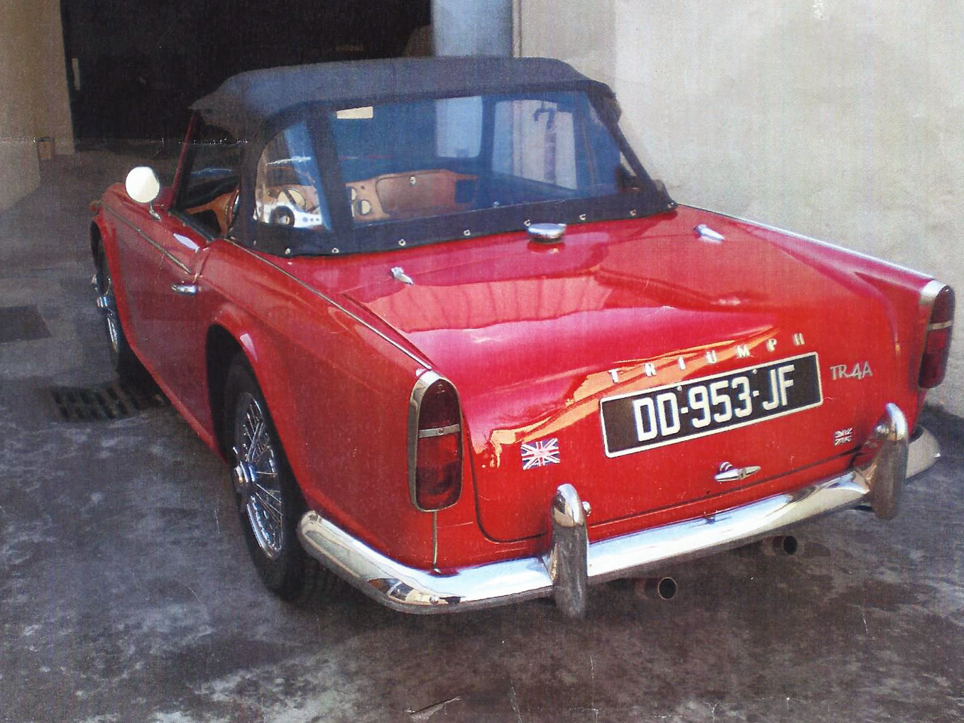 Triumph tr4 a forums auto de motorlegend for Garage auto coignieres