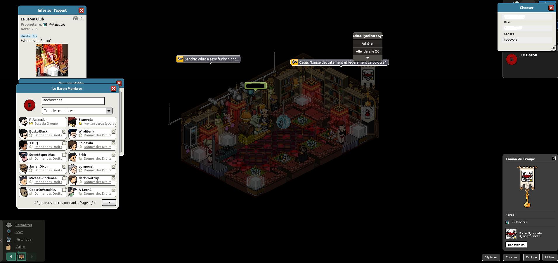 [Scaevola] Le Baron Club [Crime Syndicate] [31-07-15] 150731093245795145