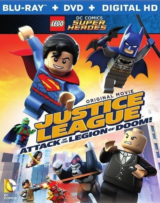 LEGO DC Comics Super Heroes Justice League Attack of the Legion of Doom poster image