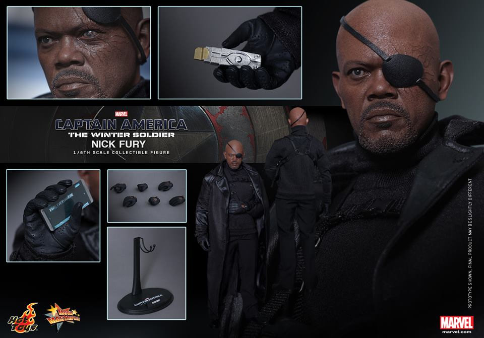 HOT TOYS - Captain America: The Winter Soldier - Nick Fury 150826074901615358