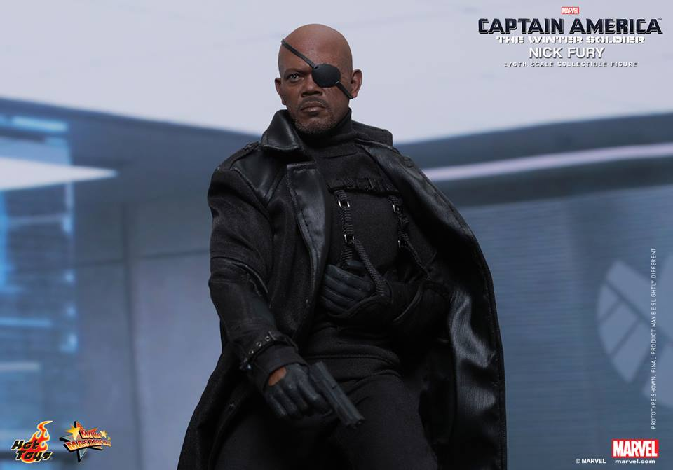 HOT TOYS - Captain America: The Winter Soldier - Nick Fury 150826074902155394