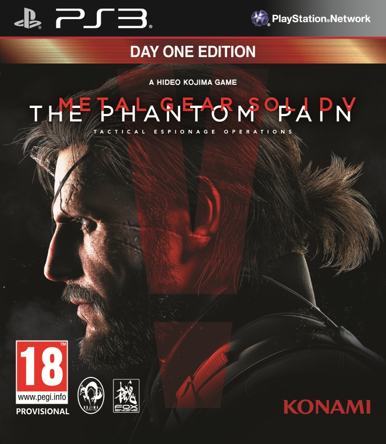 Poster for Metal Gear Solid V: The Phantom Pain