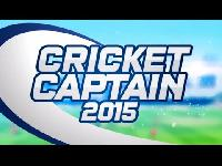 Poster for Cricket Captain 2015