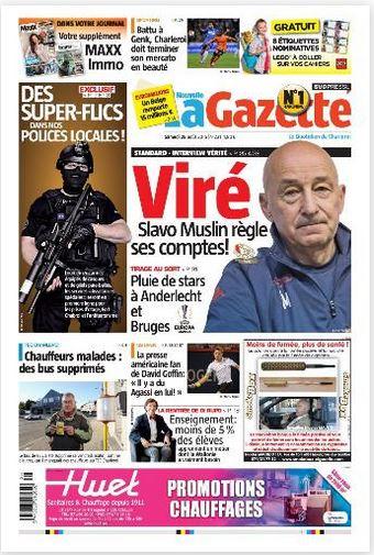 La nouvelle gazette du 29-08-2015 Belgique