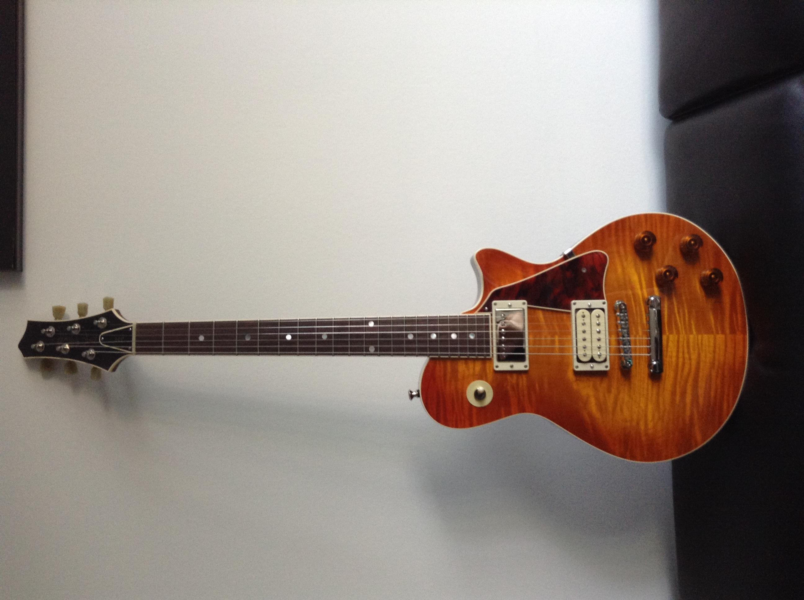 McInturff Carolina Custom - Ou comment avoir un esprit LP sans passer par Gibson 150904084421288865