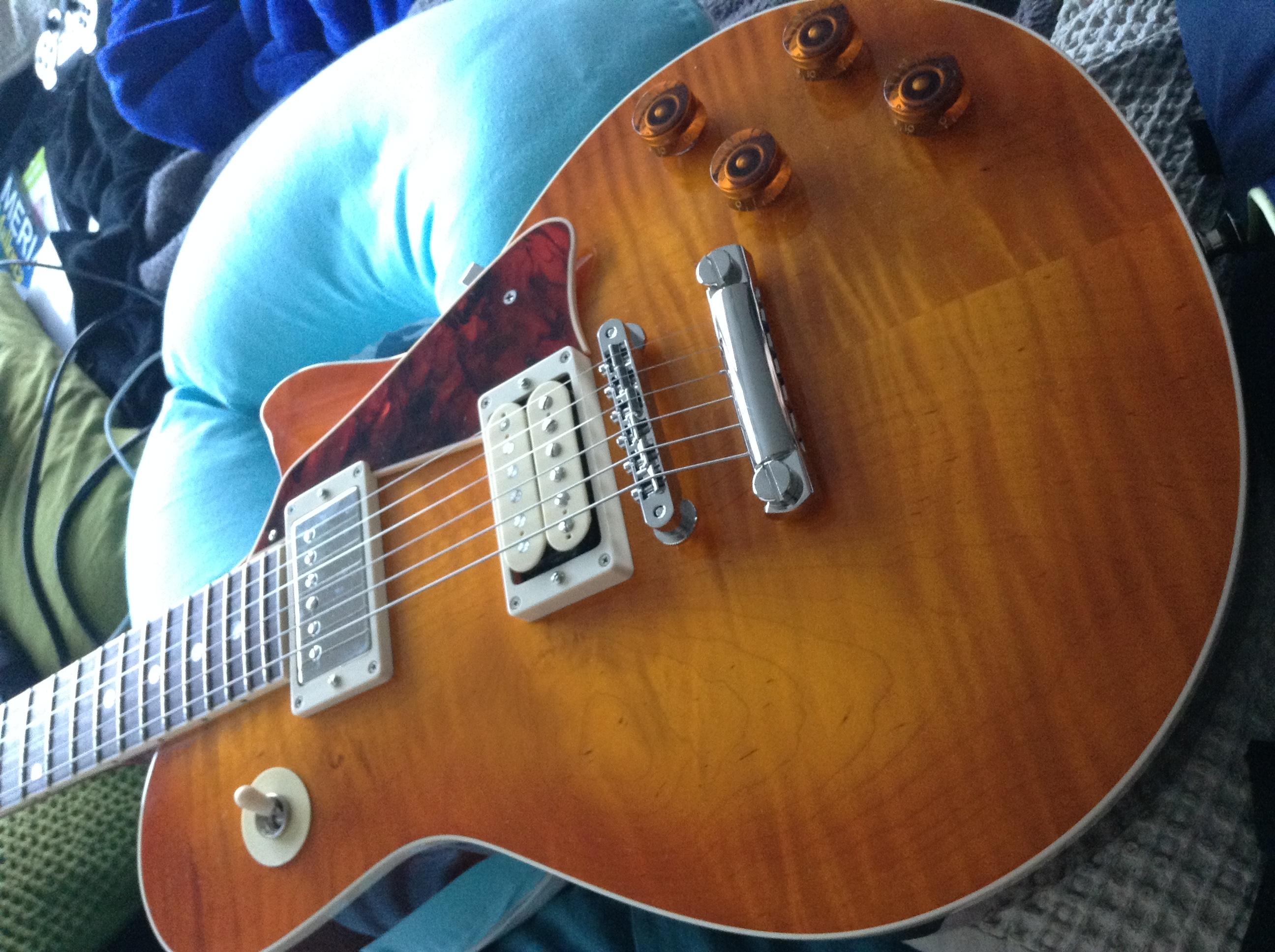 McInturff Carolina Custom - Ou comment avoir un esprit LP sans passer par Gibson 150904084422446212