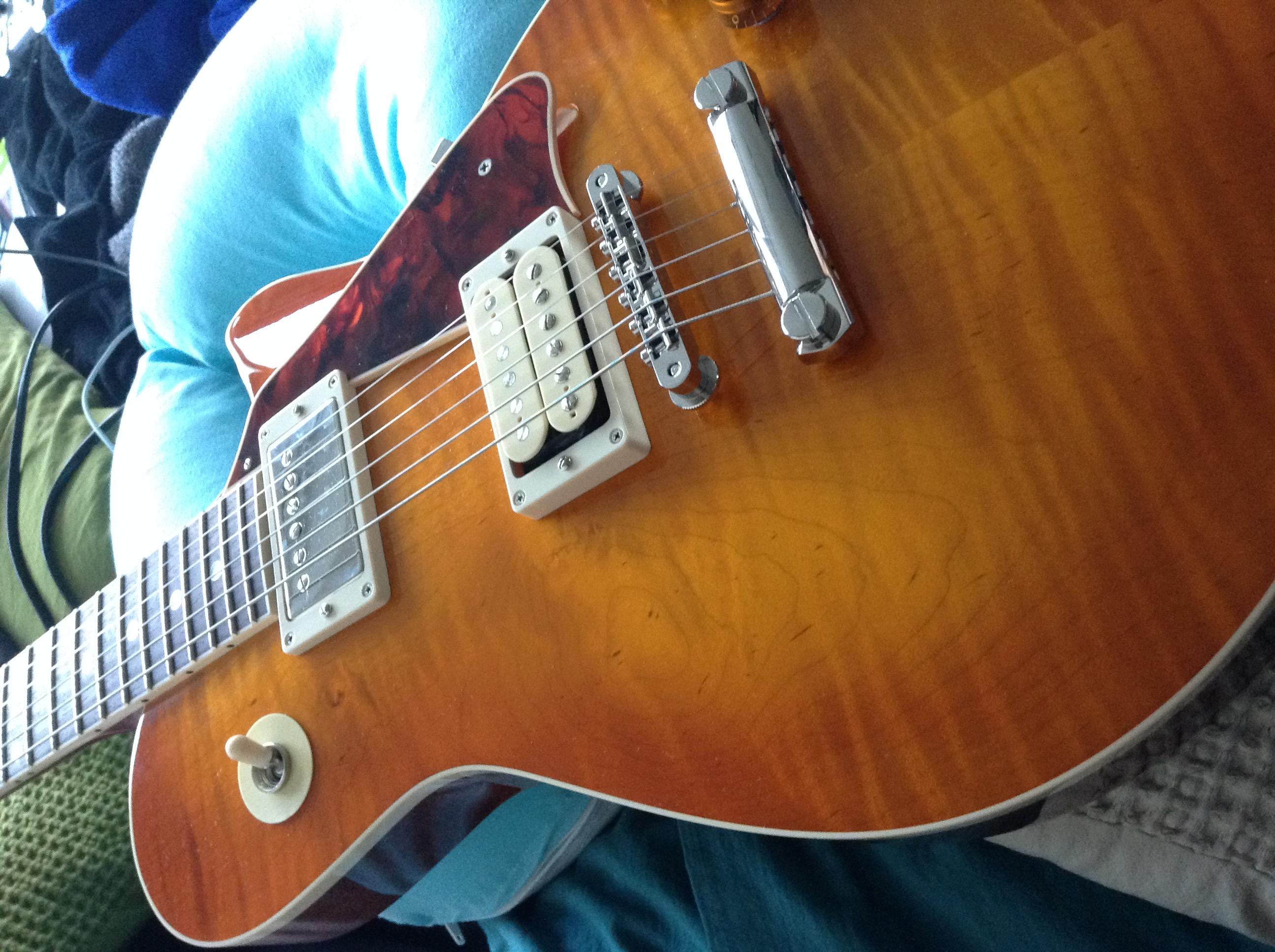 McInturff Carolina Custom - Ou comment avoir un esprit LP sans passer par Gibson 15090408442413375