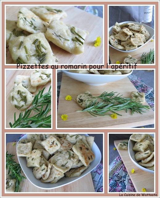 pizzettes romarin