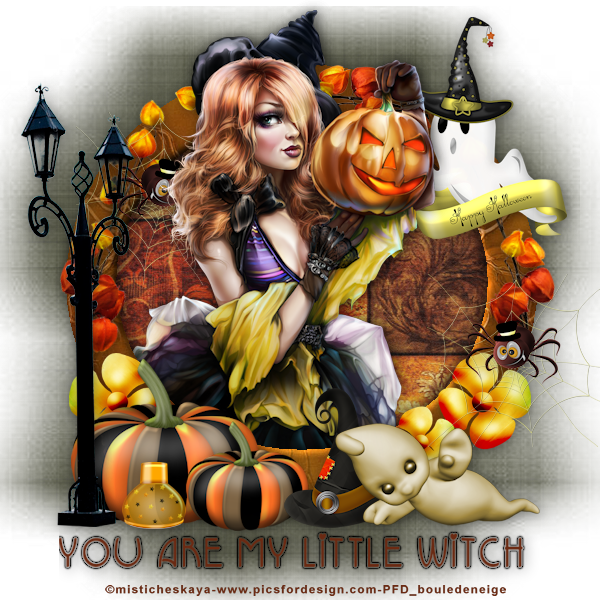 you are my little witch