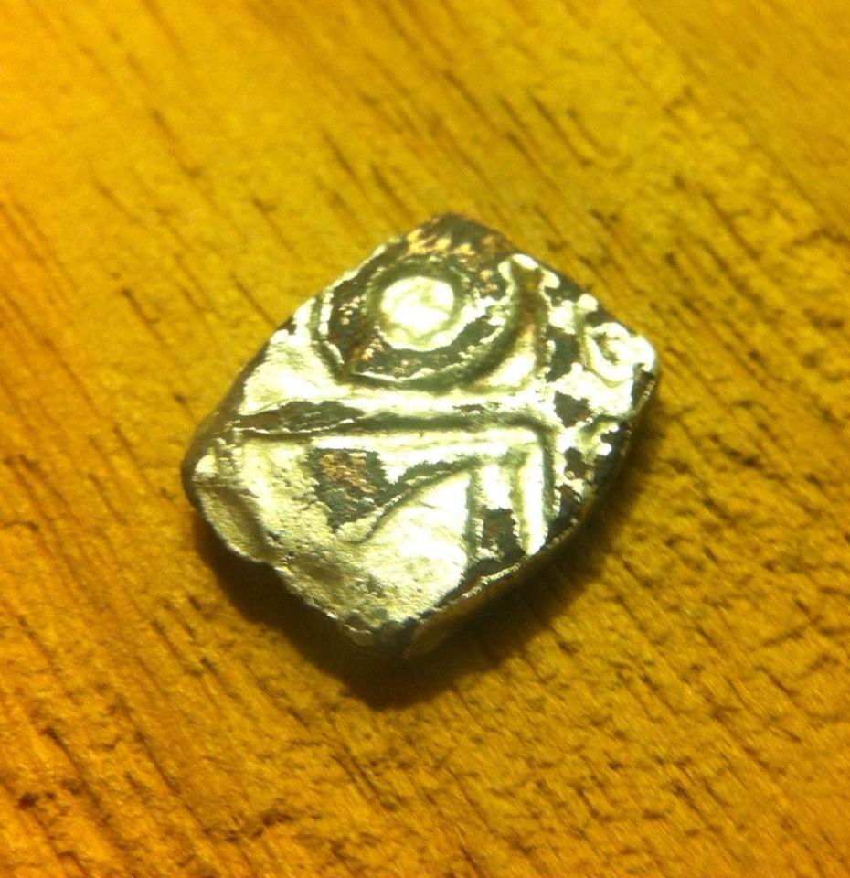 Drachme fourrée au type de Goutrens . 15091202090975343