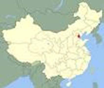 grande carte de Tianjin