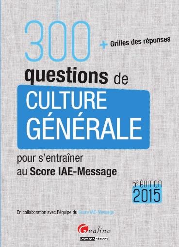 300 questions de culture générale