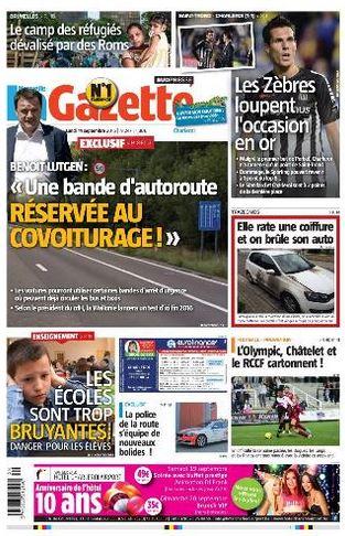 La nouvelle gazette du 14-09-2015 Belgique