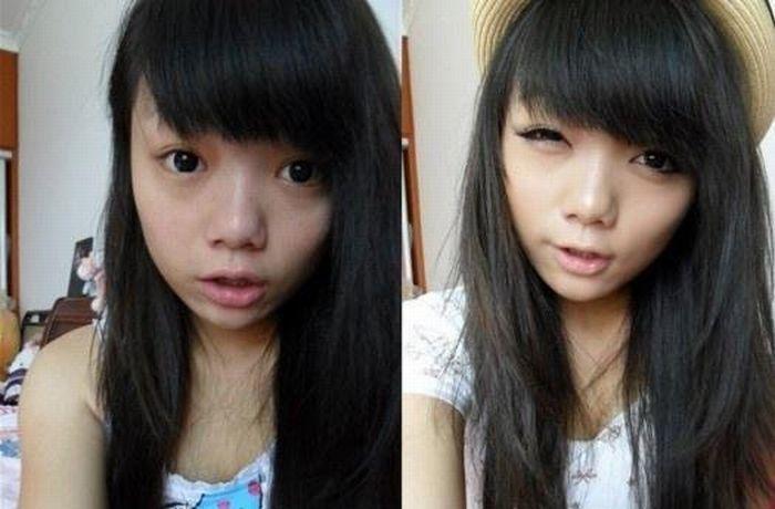 Azjatki bez makijażu 8