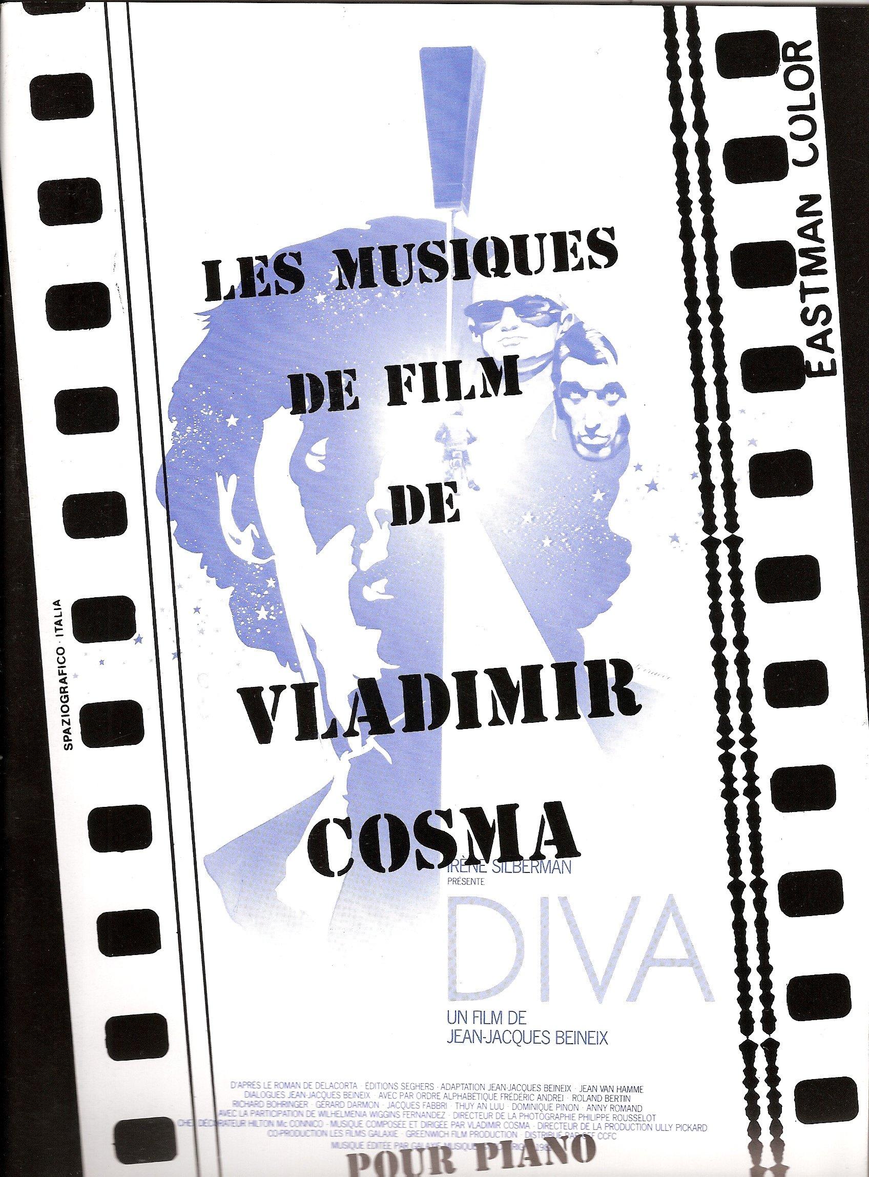 Les Musiques de Film de Vladimir Cosma Vol. 1 - Partition Piano