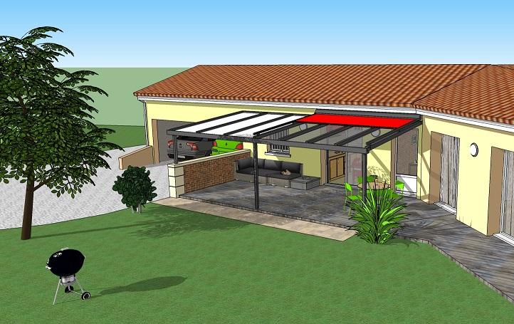 pergola toiture en verre simple ou double vitrage 8 messages. Black Bedroom Furniture Sets. Home Design Ideas