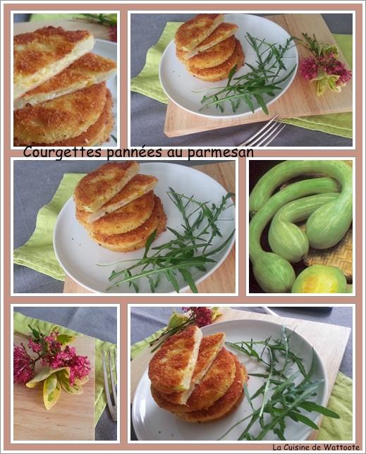 courgettes pannées parmesan