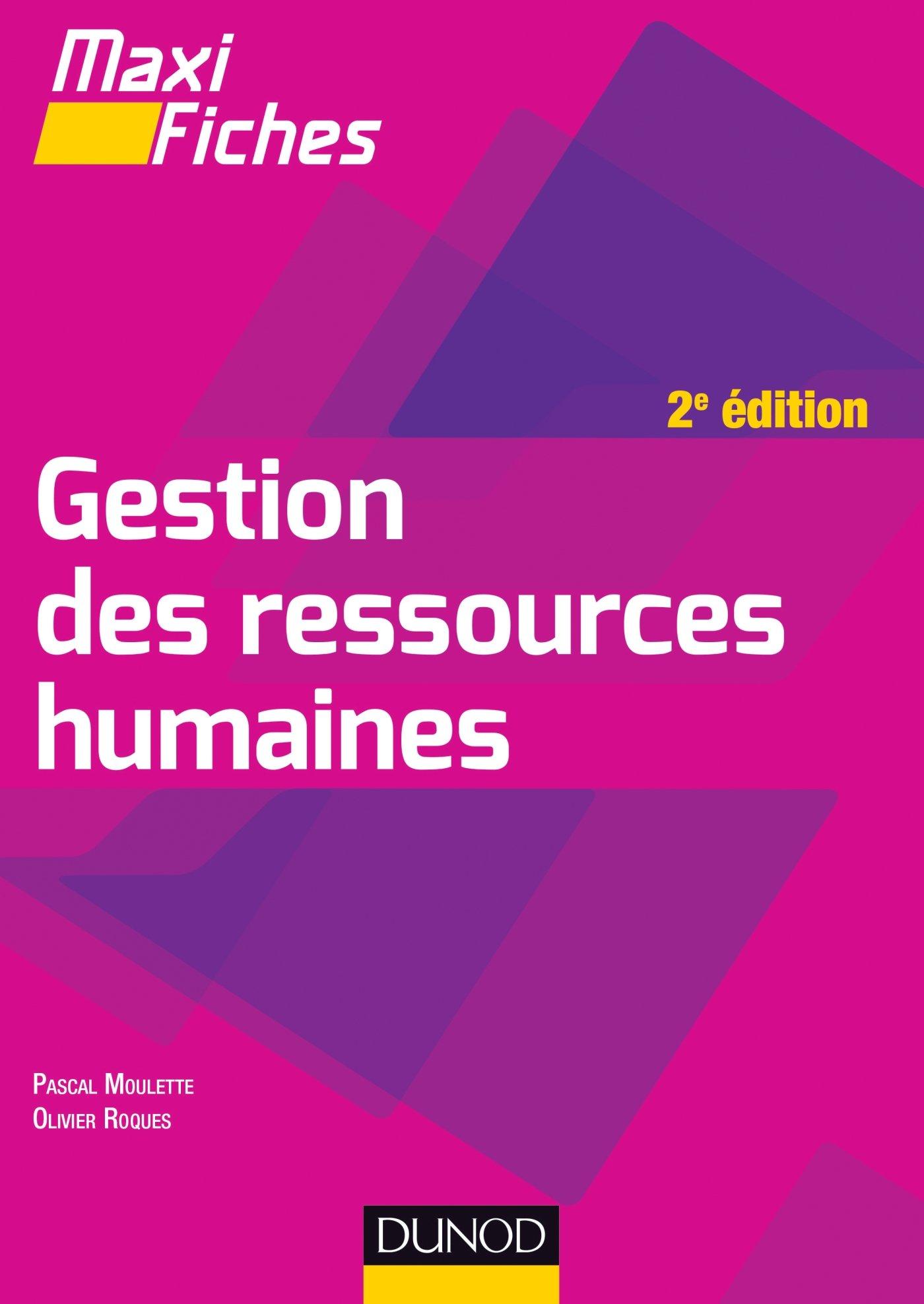 Maxi Fiches de Gestion des ressources humaines