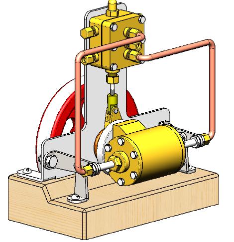 moteur expérimental à cylindre mobile 151010055923554161