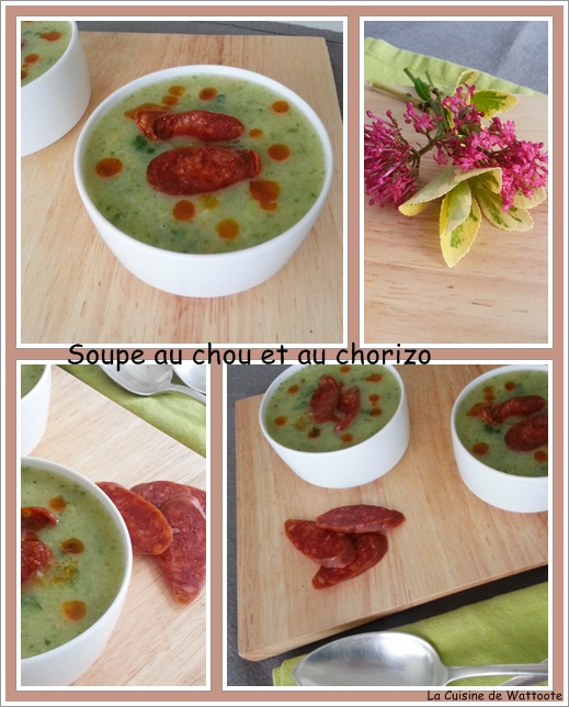 soupe chou chorizo