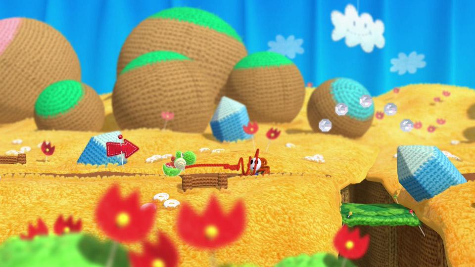 Yoshi's Woolly World image 1