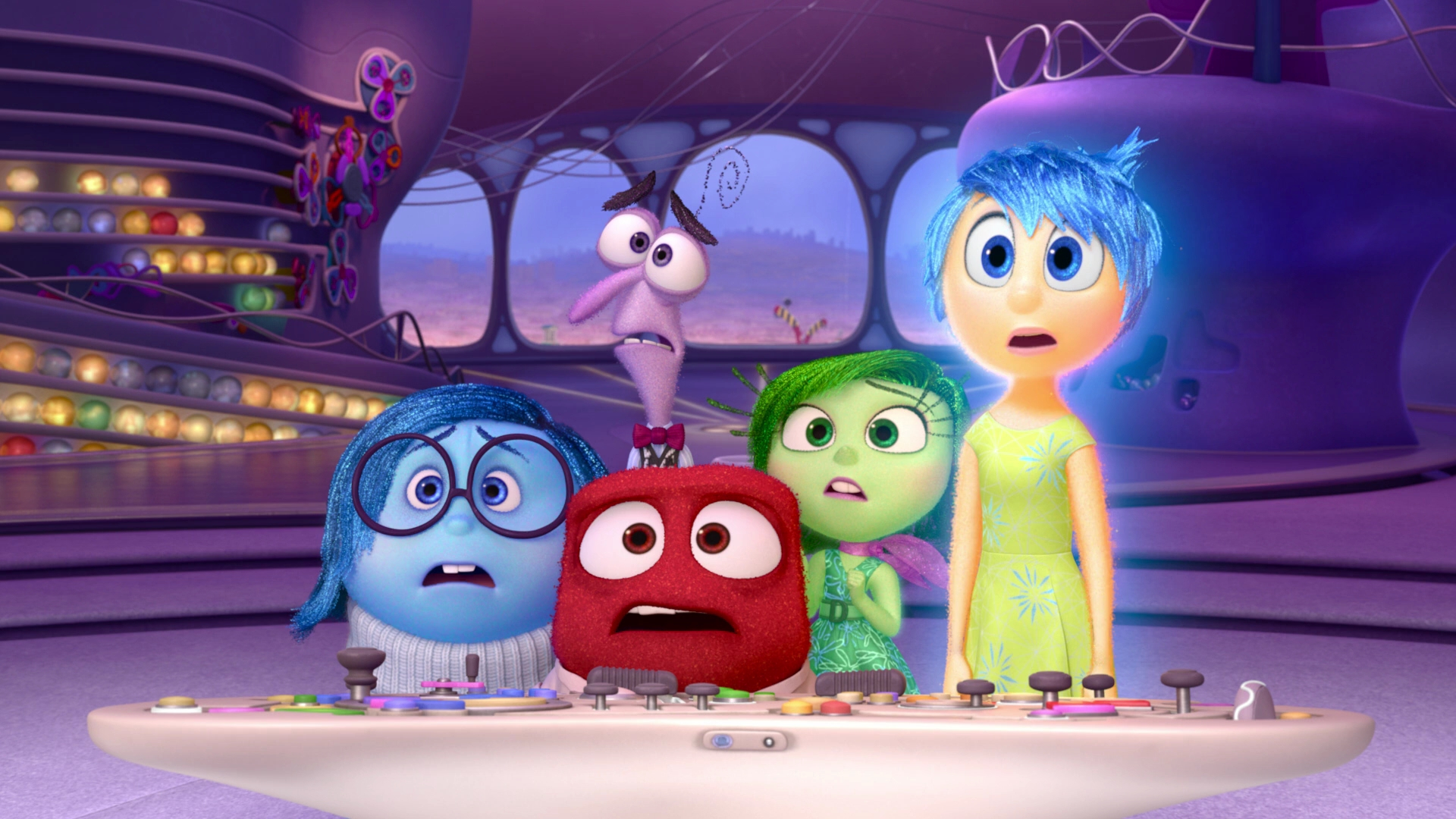 Joy And Sadness At The Trophy Town By: Inside Out 2015 1080p BluRay X264-SPARKS